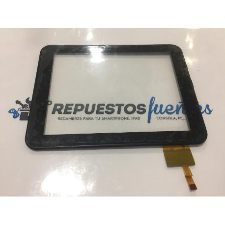 PANTALLA TACTIL CON MARCO ORIGINAL SPC INTERNET NITRO 8B (TAPA NEGRA) - RECUPERADA