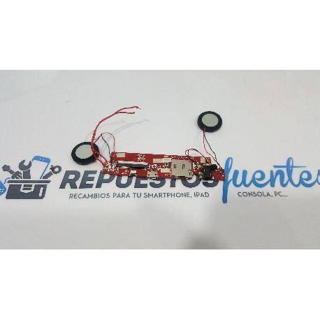 MODULO CONECTOR CARGA + ALTAVOCES ORIGINAL PARA SPC INTERNET NITRO 8B - RECUPERADO