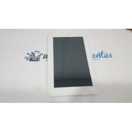 PANTALLA LCD + TACTIL CON MARCO ORIGINAL PARA SPC GLOW 7 QUAD CORE - RECUPERADA
