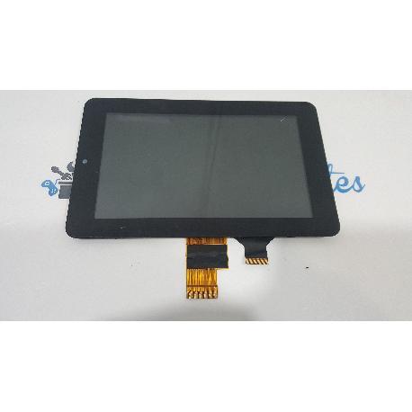 PANTALLA LCD + TACTIL CON MARCO ORIGINAL PARA SPC NIOBE 7 DUAL CORE - RECUPERADO