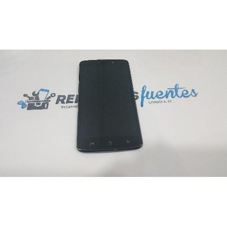 PANTALLA LCD + TACTIL CON MARCO ORIGINAL PARA ARCHOS 52 PLATINUM - RECUPERADA