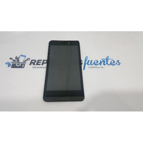 PANTALLA LCD + TACTIL CON MARCO ORIGINAL PARA ARCHOS 50 HELIUM 4G - RECUPERADA