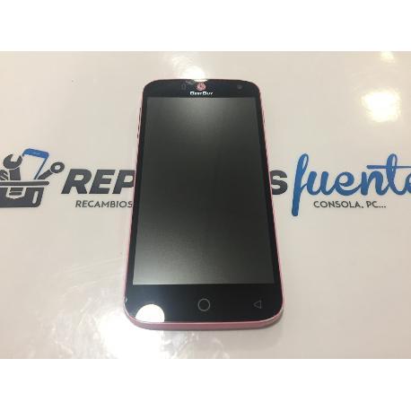 PANTALLA LCD DISPLAY + TACTIL CON MARCO ORIGINAL BESTBUY EASYPHONE 4.7QC ROSA - RECUPERADA