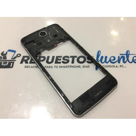 CARCASA INTERMEDIA NEGRA ORIGINAL ZOPO SPEED 7 PLUS ZP952 - RECUPERADA