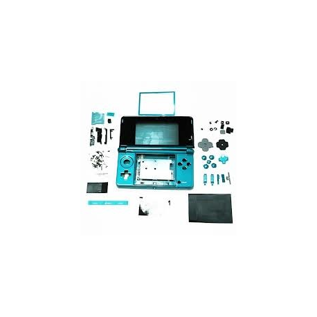 Carcasa Compatible Nintendo 3DS azul