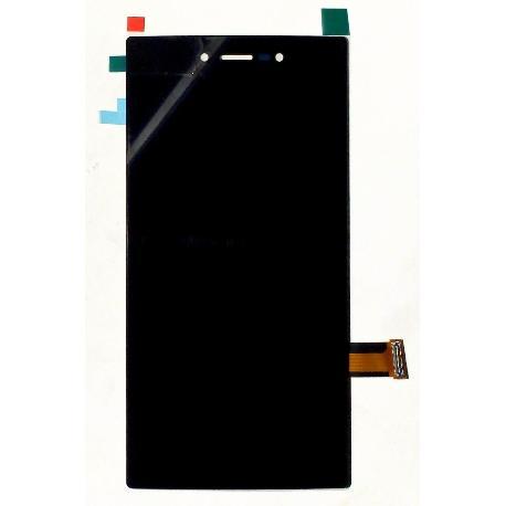 PANTALLA LCD DISPLAY + TACTIL CON MARCO PARA WIKO HIGHWAY STAR NEGRO - RECUPERADA