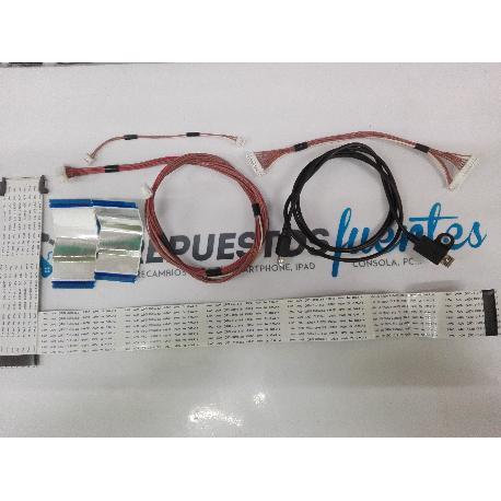 JUEGO DE CABLES TV PANASONIC TX-50AS500E