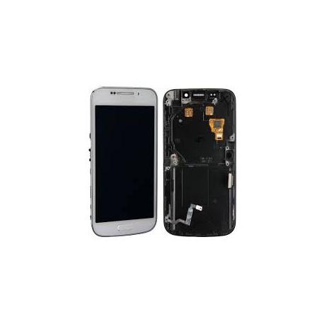 Pantalla Completa con Marco Samsung Galaxy S4 ZOOM C1010 Blanca