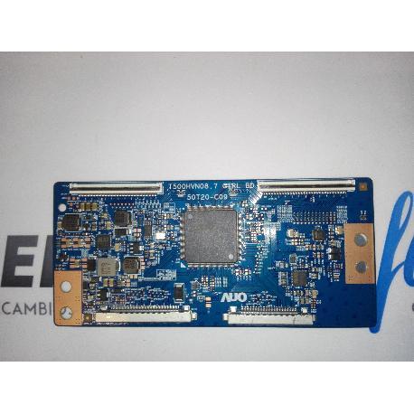 PLACA T-CON BOARD TV LG 42LF652V T500HVNO8.7 CTRL BD 50T20-C09