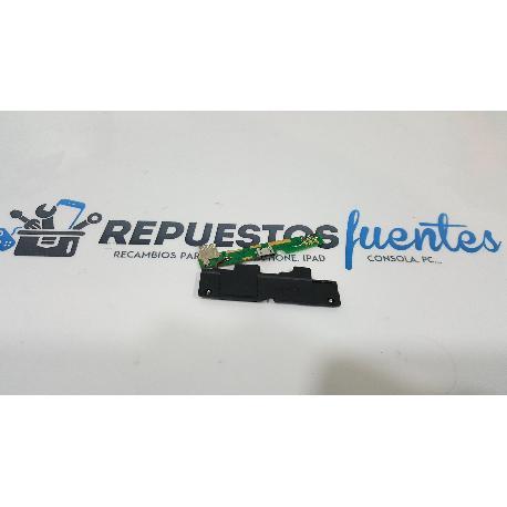 MODULO CONECTOR DE CARGA + ALTAVOZ BUZZER ORIGINAL PARA MASTERPHONE 5 - RECUPERADO