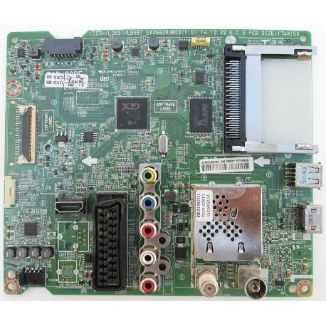 PLACA BASE MAIN BOARD TV LG 49LF540V-ZB EAX66203803(1.0)