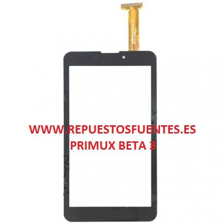 PANTALLA TACTIL PARA PRIMUX BETA 3 - NEGRA