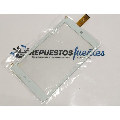 PANTALLA TACTIL UNIVERSAL HSCTP-489-8 PARA TABLET CHUWI HI8 DE 8 PULGADAS - BLANCA