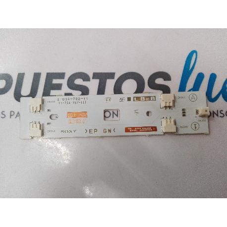 MODULO CONECTOR LED TV SONY KDL-40R480B 1-889-702-11 LB40B