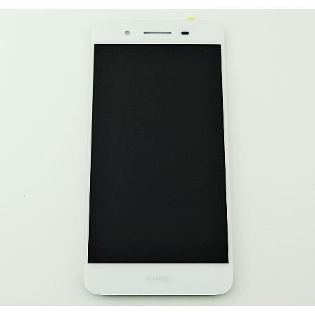 PANTALLA LCD DISPLAY + TACTIL CON MARCO PARA HUAWEI GR3 / HUAWEI ENJOY 5S BLANCA - RECUPERADA