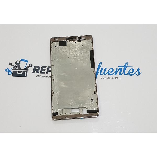 CARCASA FRONTAL DE LCD PARA HUAWEI MATE 9 - MARRON