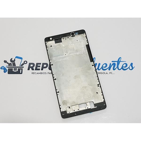 CARCASA FRONTAL DE LCD PARA HUAWEI MATE 9 - NEGRA