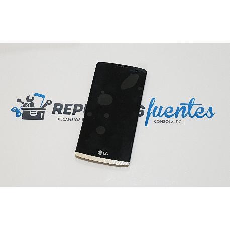PANTALLA LCD DISPLAY + TACTIL + MARCO PARA LG LEON H340 H320 4G LTE - ORO