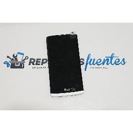 PANTALLA LCD DISPLAY + TACTIL + MARCO PARA LG LEON H340 H320 4G LTE - BLANCO