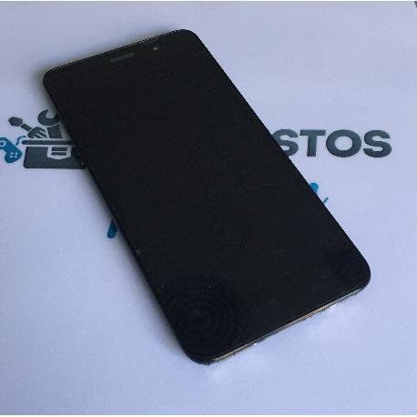 PANTALLA TACTIL + LCD DISPLAY CON MARCO PARA HUAWEI HONOR 4A / Y6 4G NEGRO -RECUPERADA