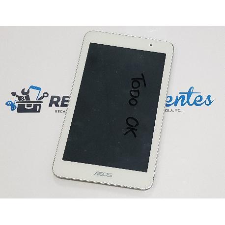 PANTALLA LCD DISPLAY + TACTIL CON MARCO ASUS MEMO PAD HD7 ME176 K013  - BLANCA