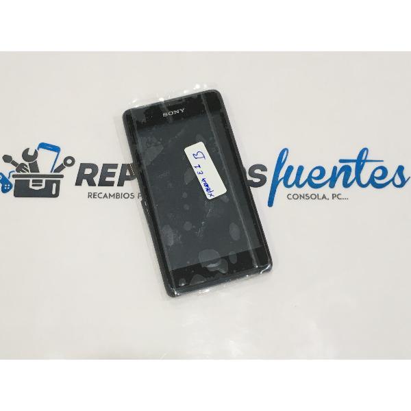 PANTALLA LCD DISPLAY + TACTIL CON MARCO ORIGINAL PARA SONY XPERIA E1 D2004 D2005 - RECUPERADA