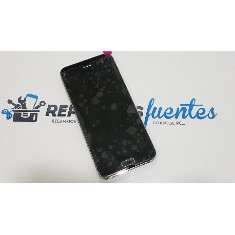 PANTALLA LCD DISPLAY + TACTIL CON MARCO PARA ZTE BLADE S7 - NEGRA