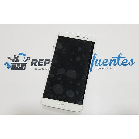 PANTALLA LCD DISPLAY + TACTIL CON MARCO PARA HUAWEI NOVA PLUS - BLANCO