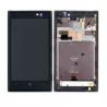 Pantalla Lcd + Táctil + Marco Frontal Original Nokia Lumia 520