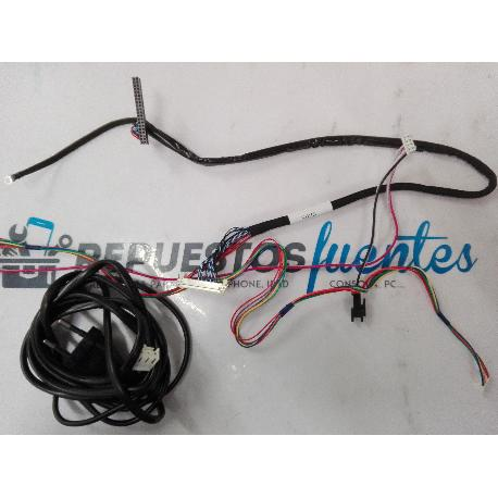 SET DE CABLES TV HISENSE LHD32D50UE
