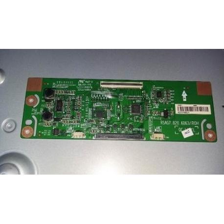 MODULO T-CON BOARD TV HISENSE LHD32K2204WCEU RSAG7.820.6063/ROH