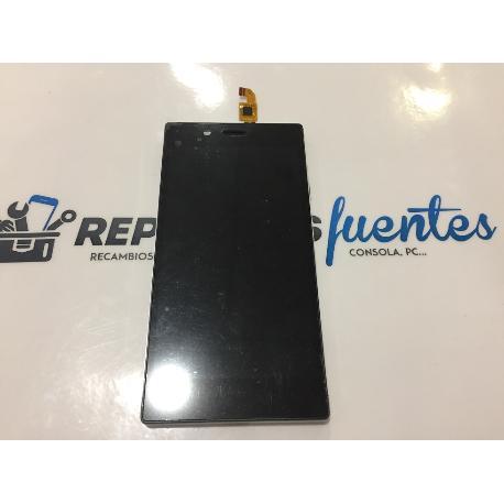 PANTALLA LCD DISPLAY + TACTIL TOUCH CON MARCO ORIGINAL IOCEAN X8 MINI PRO - NEGRA