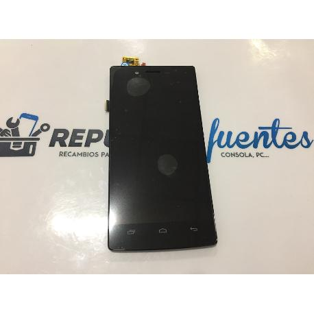 PANTALLA LCD DISPLAY + TACTIL TOUCH CON MARCO ORIGINAL IOCEAN X7 - NEGRA
