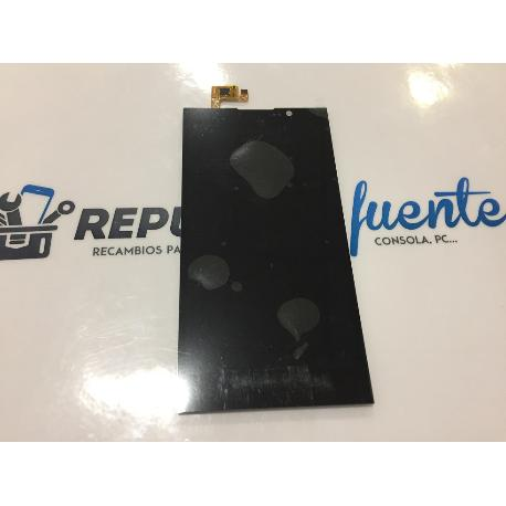 REPUESTO PANTALLA LCD DISPLAY + TACTIL TOUCH ELEPHONE P10 - NEGRA