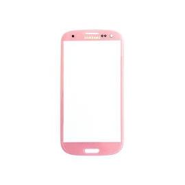 Samsung Galaxy s3 i9300 Cristal rosa Gorilla Glass
