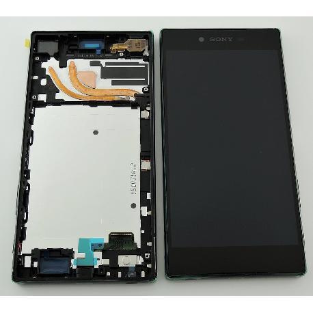 PANTALLA LCD DISPLAY + TACTIL CON MARCO (VERSION DE 1 SIM) PARA SONY XPERIA Z5 PREMIUM E6853 PLATA - RECUPERADA