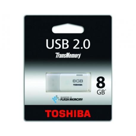 Pendrive 8 Gb Toshiba Transmemory HAYABUSA Blanco