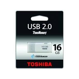 Pendrive 16 Gb Toshiba Transmemory HAYABUSA Blanco