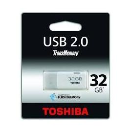 Pendrive 32Gb Toshiba Transmemory HAYABUSA Blanco