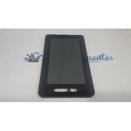 PANTALLA LCD + TACTIL CON MARCO ORIGINAL PARA WOXTER PC 65 CXI - RECUPERADA