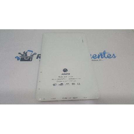 TAPA TRASERA ORIGINAL PARA WOXTER PC 65 CXI BLANCA - RECUPERADA
