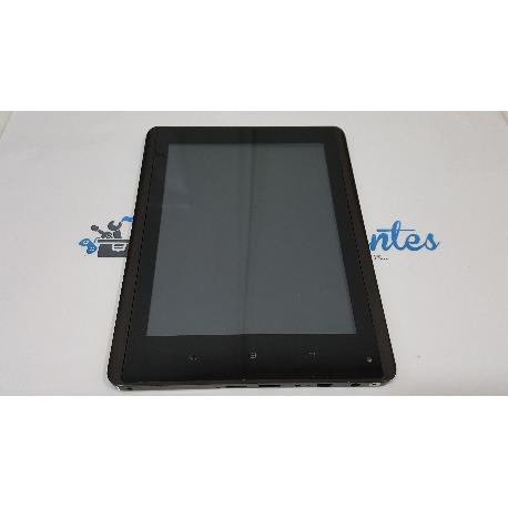 PANTALLA LCD DISPLAY + TACTIL CON MARCO ORIGINAL PARA WOXTER PC 85 CX / PC 85 CXI - RECUPERADA
