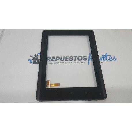 PANTALLA TACTIL CON MARCO ORIGINAL PARA WOXTER PC 85 CX / PC 85 CXI - RECUPERADA