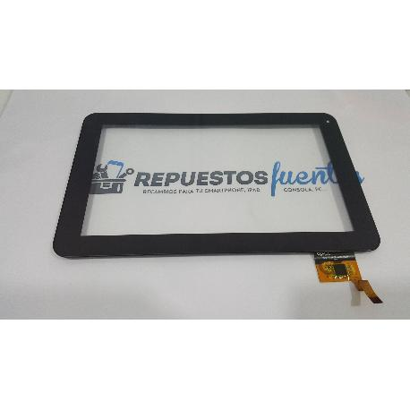 PANTALLA TACTIL CON MARCO ORIGINAL TABLET WOXTER TABLET PC 90 BL - RECUPERADA