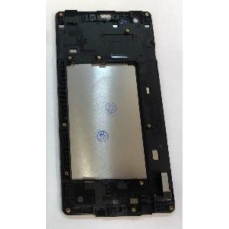 PANTALLA LCD DISPLAY + TACTIL CON MARCO PARA LG X STYLE K200 - BLANCA