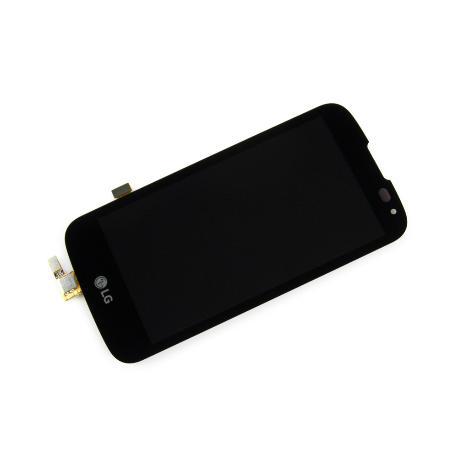 PANTALLA LCD DISPLAY + TACTIL PARA LG K100 - K3 - NEGRA