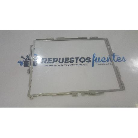 CHAPA METALICA DE MARCO FRONTAL ORIGINAL PARA WOXTER SR. NILSON - RECUPERADA