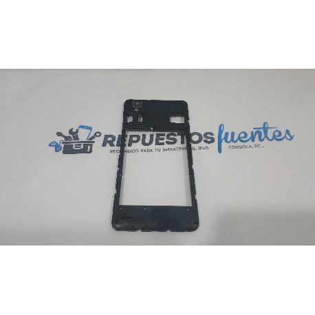 CARCASA INTERMEDIA ZTE BLADE X3 A452 Q519T Q519 NEGRA - RECUPERADA