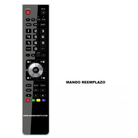 RECAMBIO DE MANDO A DISTANCIA TELEVISION TV RECEPTOR SATELITE SAT DTT NPG - REEMPLAZO