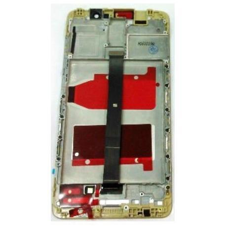 PANTALLA LCD DISPLAY + TACTIL CON MARCO PARA HUAWEI MATE 9 - ORO